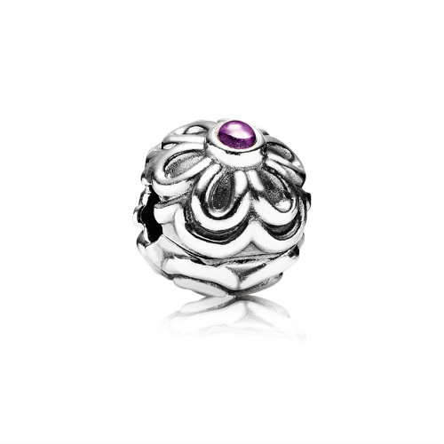 2018 Pandora Zinnia Flower Clip 790953AM